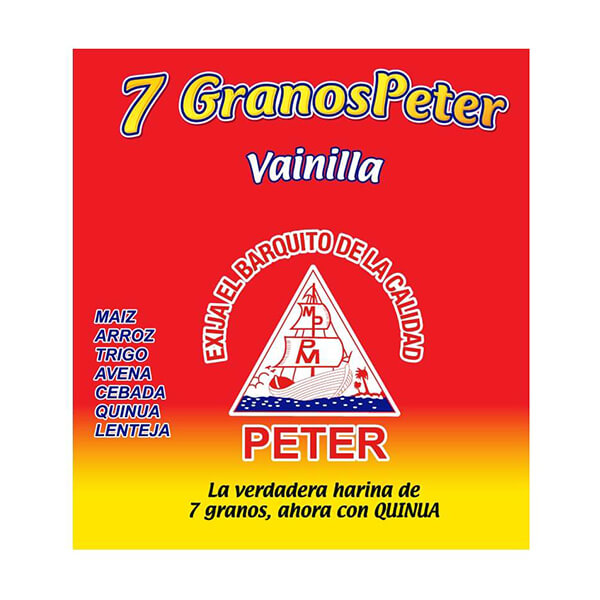 7 Granos Peter Vainilla con Quinua