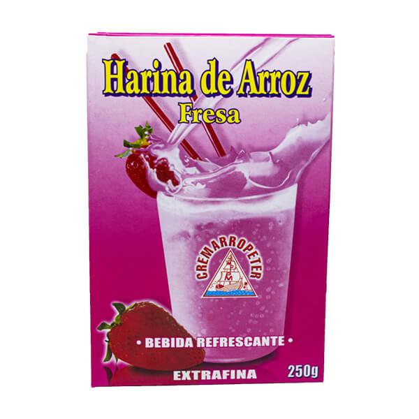 Harina de Arroz Cremarropeter Fresa Display 250 g
