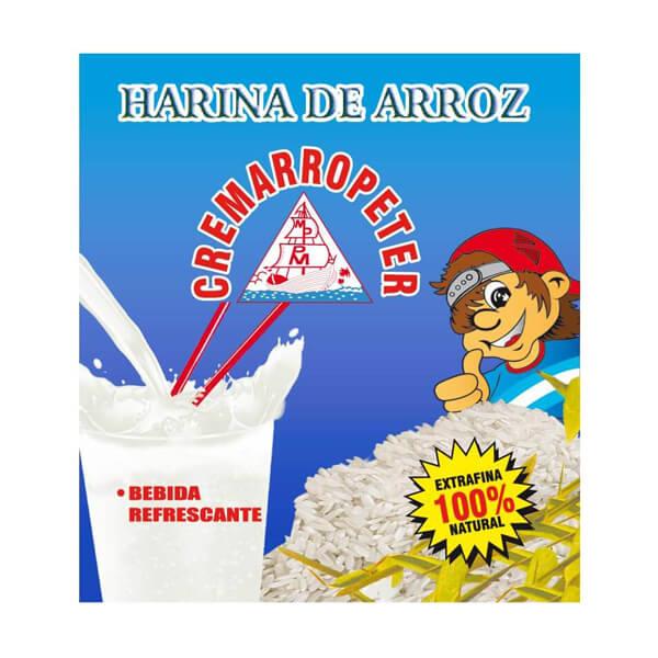 Harina de Arroz Cremarropeter 100% Natural 12 x 70g