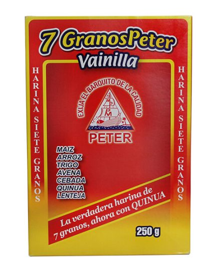 7 Granos Peter Vainilla Display 250 Gramos